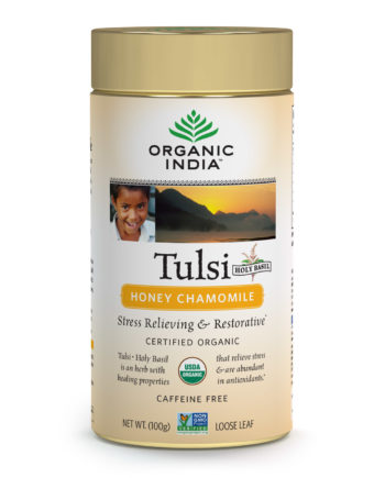Tulsi Honey Chamomile Loose Leaf Tea