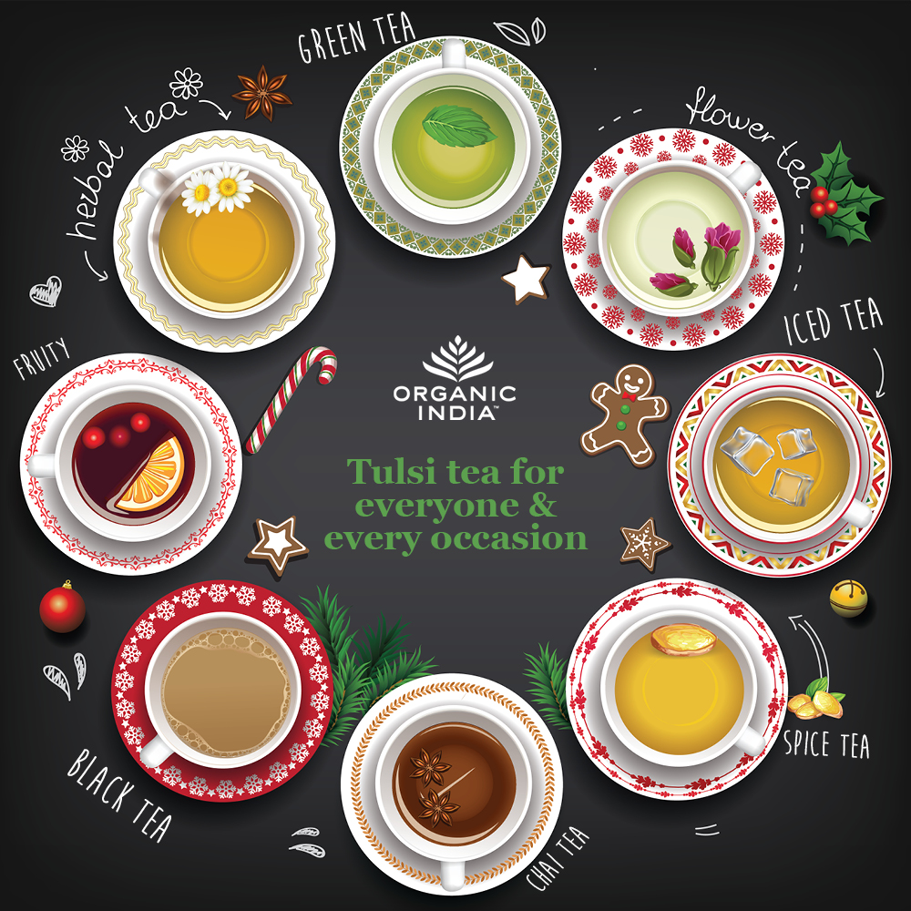 Tea Gift Guide 2017: Gifts for Tea Lovers | ORGANIC INDIA
